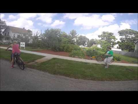 Edible Flint Bicycle Garden Tour 2015- Berston Bike Club