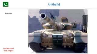 Leopard 2 compared to Al-Khalid, Tank Full Specs Comparison