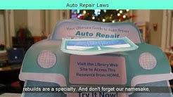 Auto Repair Laws