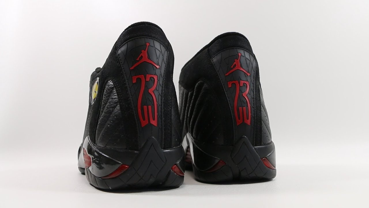 c367e84a5060 The OG Air Jordan 14 XIV Last Shot