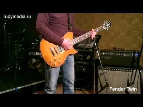 Mesa Mark V vs Fender Twin Amp clean sound