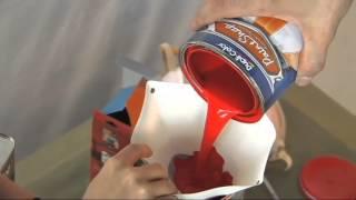 Duplicolor Paint Shop Base Coat Application Tutorial Overview