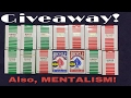 FACETIME MAGIC! GIVEAWAY AND MENTALISM!