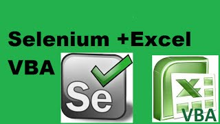 How to use selenium in Excel VBA