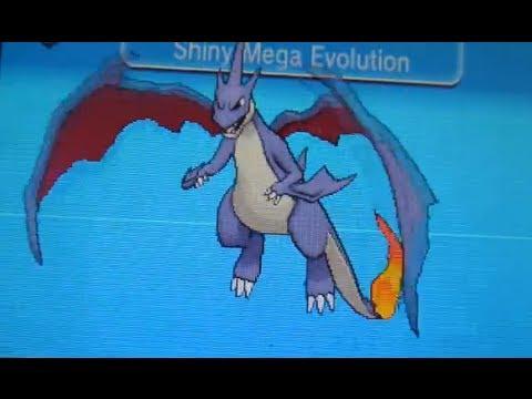 Shiny Charizard Y Mega