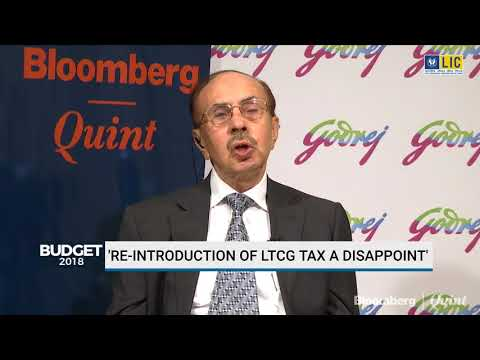 Adi Godrej: He Is Disappointed With The Reintroduction Of LTCG Tax