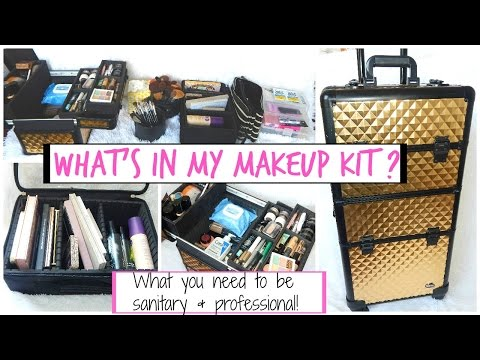 Freelance Makeup Artist Kit: Makeup Artist Must Haves