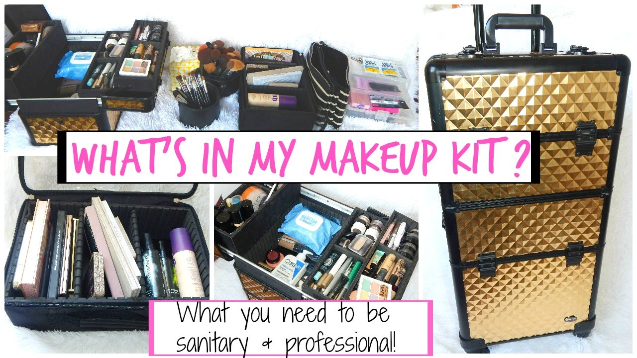 Freelance Makeup Artist Kit Makeup Artist Must Haves