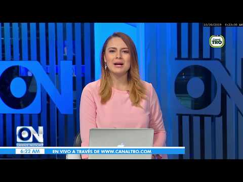 Oriente Noticias primera emisión 30 de Octubre