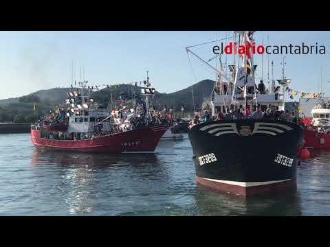 Procesión Fiestas Virgen del Puerto Santoña 2018