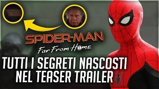 SPIDER-MAN: FAR FROM HOME | Easter Eggs in the Trailer