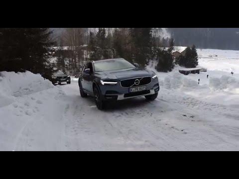Тест-драйв Volvo V90 Cross Country: ездим на автопилоте и проверяем полный привод
