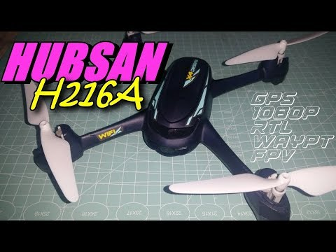 Hubsan H216A X4 DESIRE Pro- an Entry Level GPS Drone w/1080p Camera