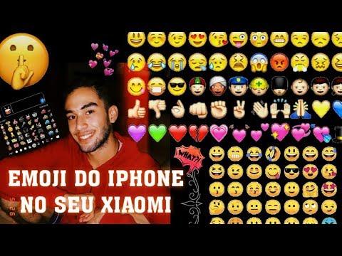 [2019] EMOJIS DO IOS NO XIAOMI + FONTE DO IPHONE