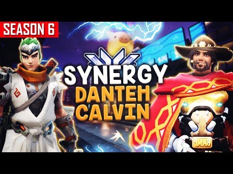 When DANTEH Meets CALVIN a.k.a. Fake Mercy Main  [S6 TOP 500]