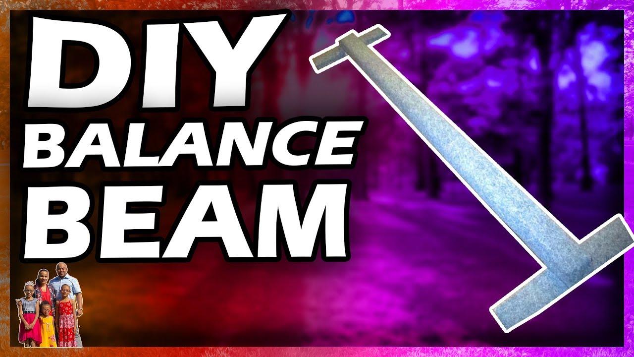 Diy Gymnastics Balance Beam Youtube