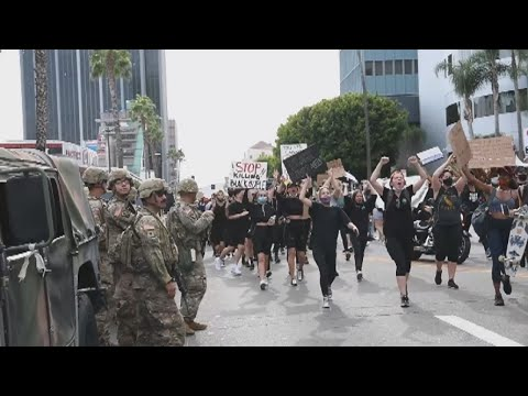 California Army National Guard And Minnesota National Guard Civil Unrest OPS