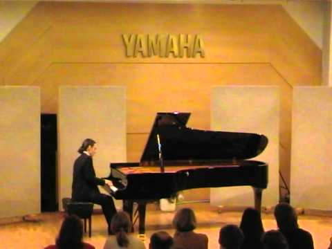 Prokofiev: Piano Sonata No.2, Op.14 (I & II Mov.) - Christian Badian, Piano