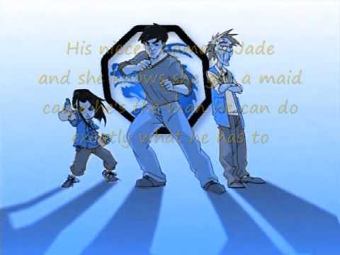Wheatus - Chan's The Man Lyrics (Jackie Chan Adventures Theme Song)