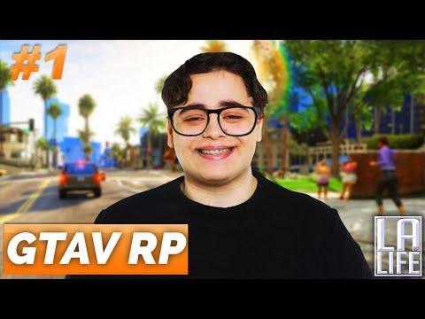 GTAV RP #1 - MES PREMIERS PAS SUR LE SERV D'AIEKILLU