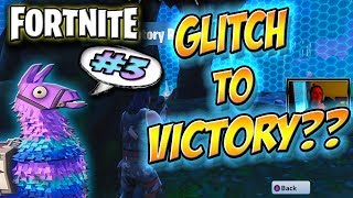 Fortnite Battle Royale Game Victory WIN #3! - BATTLE ROYALE - SOLO - XBOX ONE - GLITCH