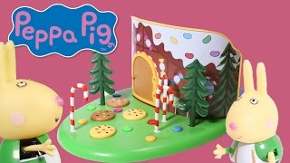 peppa pig woodland playlet once upon a time series unboxing video