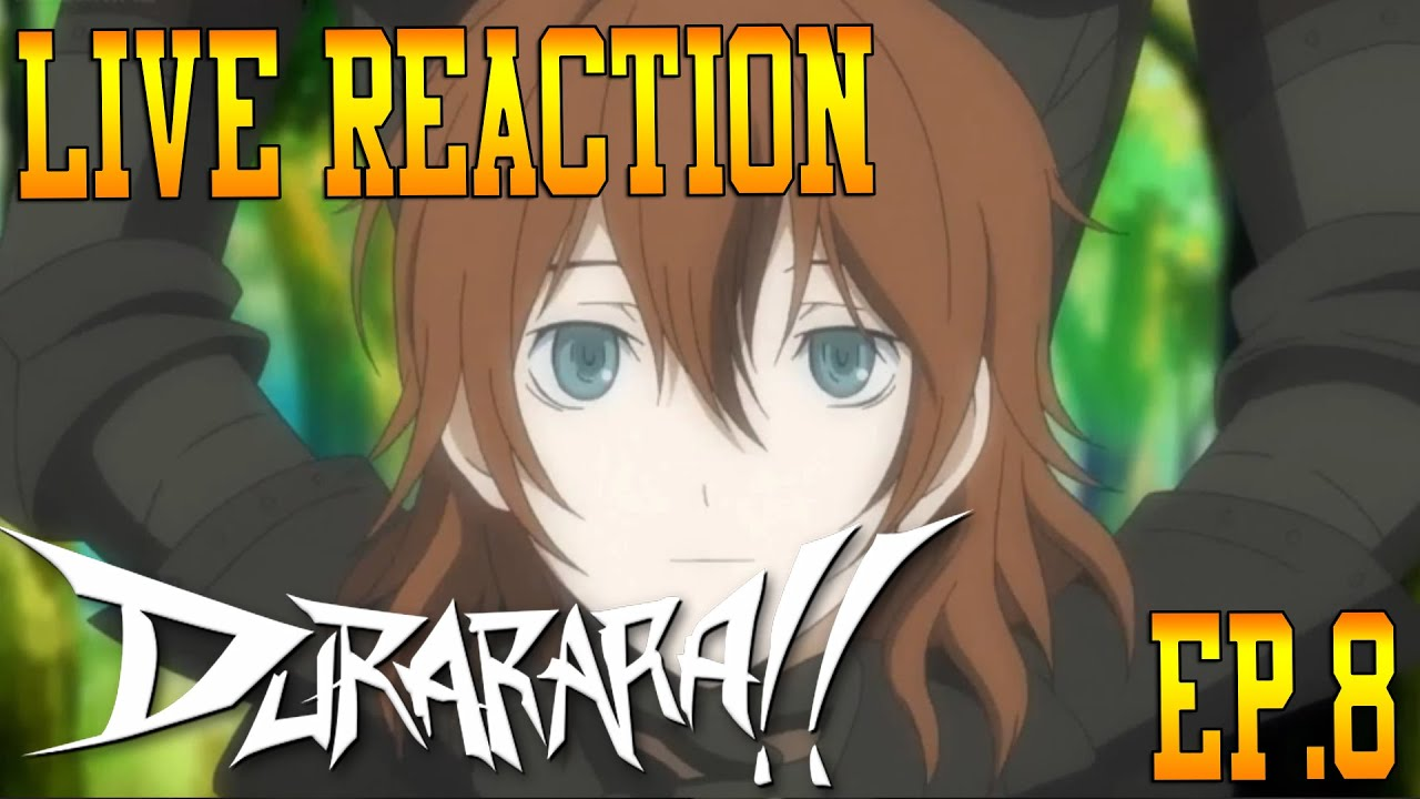 Durarara!! Episode 8 Live Reaction & Review - Celty's Head ...