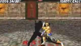 Mortal Kombat Tournament Edition: Noob Saibot Very Hard