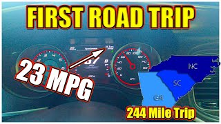 First Road Trip in my Dodge Charger 392 SCAT PACK...Averaged 23 MPG DODGE was RIGHT!!!! (MUST WATCH)