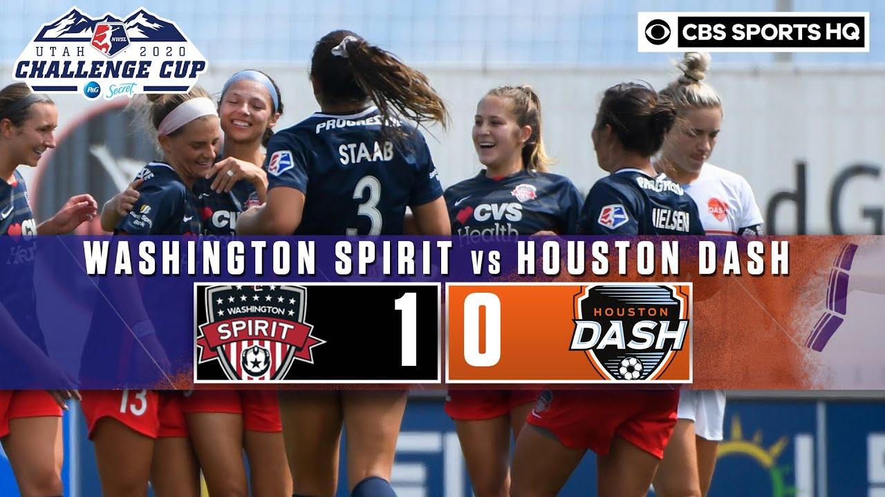 2020 NWSL Highlights: Washington Spirit vs. Houston Dash | CBS Sports HQ