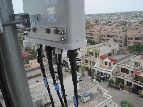ZTE LTE 4 Antenna System Installation