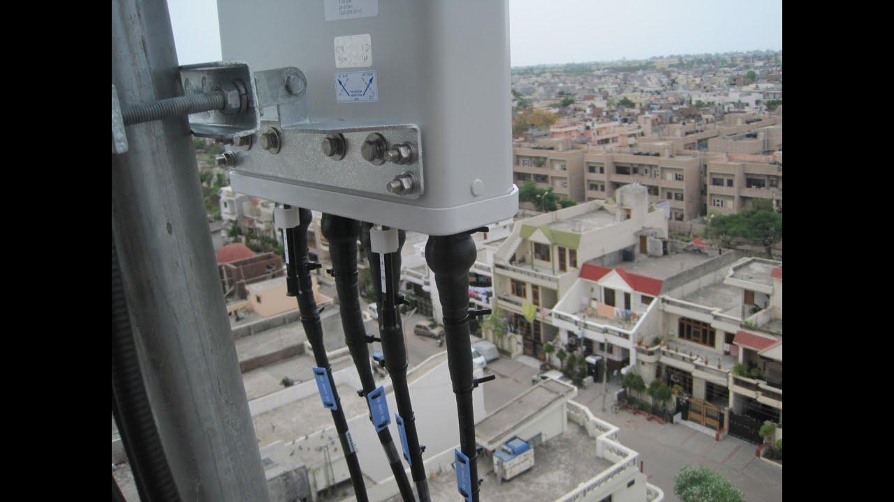 Zte Lte 4 Antenna System Installation Youtube