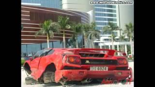 самые дорогие авто аварии мира