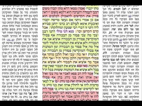 בכורות טו 15 חמישי כ״ז ניסן תשע״ט הדף היומי בכורות דף טו Daf yomi Bechoros page 15 Shmuel Navon