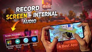 PUBG Screen Recorder + Internal Audio + Microphone Audio   60FPS No Lag No Root   Joriya Gaming
