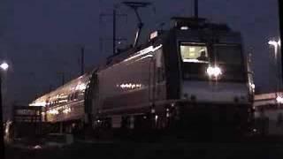 Last Amtrak Clockers October 28 2005