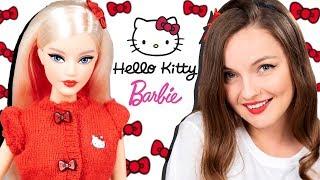 к БАБУЛЕ или НА ТУСУ? Barbie Hello Kitty: обзор и распаковка, примерка второго аутфита