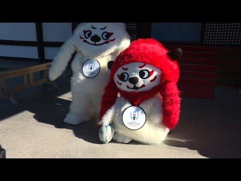 Rugby le japon d voile les mascottes de la coupe du monde - La mascotte de la coupe du monde 2014 ...