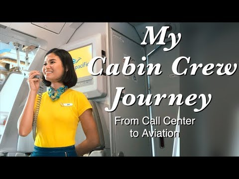 CABIN CREW JOURNEY || From Call Center Agent to Flight Attendant
