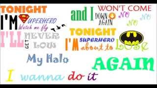 Repeat youtube video 5 Seconds Of Summer - Superhero (lyrics video)