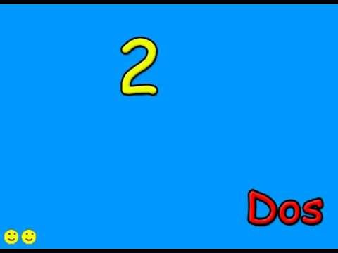 Counting 1-10 for kids (Spanish) - YouTube