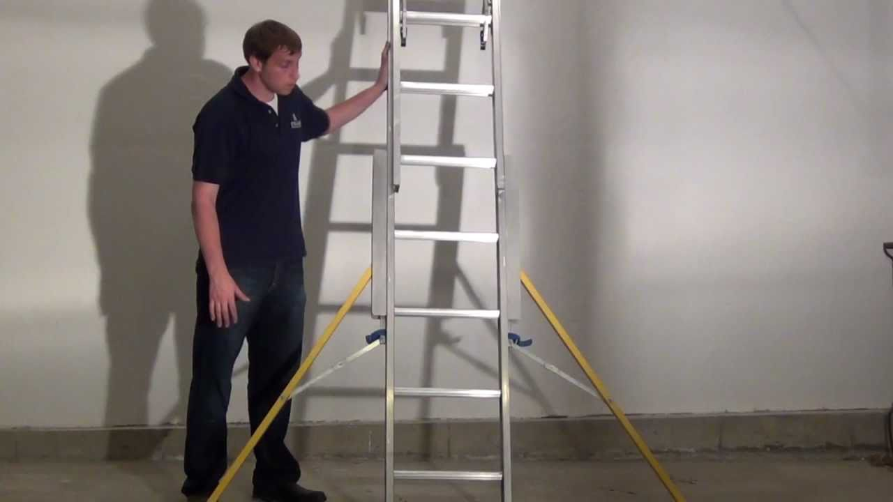 Stablebase Extension Ladder Stabilizer Demo Youtube