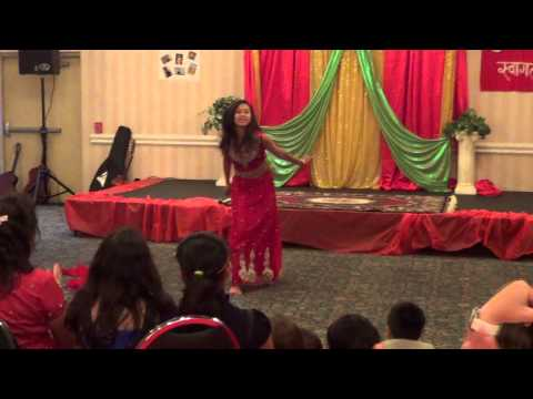 Student of the Year Radha Dance By Sharhana