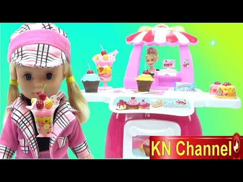 Đồ chơi trẻ em TIỆM BÁNH KEM KHỔNG LỒ CỦA BÉ NA | KN Channel