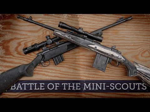 Battle of the Mini-Scouts: Ruger Gunsite Scout vs Mossberg MVP Patrol 5.56 NATO
