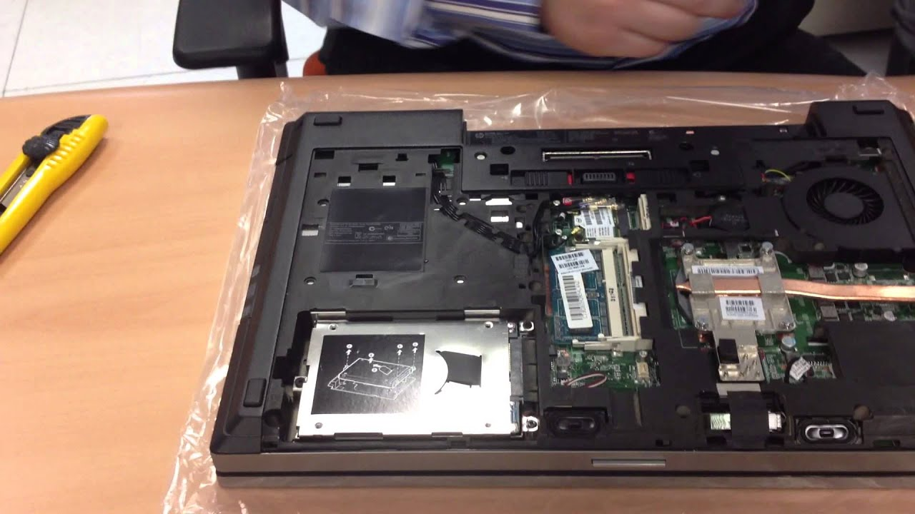 how to install memory in hp elitebook youtube. Black Bedroom Furniture Sets. Home Design Ideas