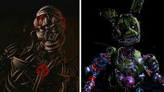 [FNAF SFM] FNAF UCN Animated Jumpscares *Scrap, Molten & Nightmare Animatronics*