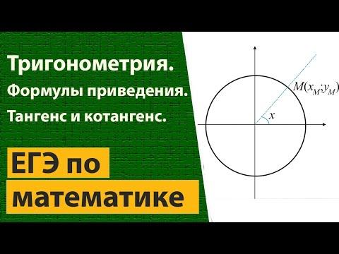 Как определить тангенс на окружности