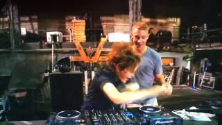 Diplo plays a dub plate of Madonna La Isla Bonita