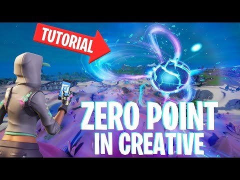 How To Make The ZERO POINT In Fortnite Creative! (Tutorial)